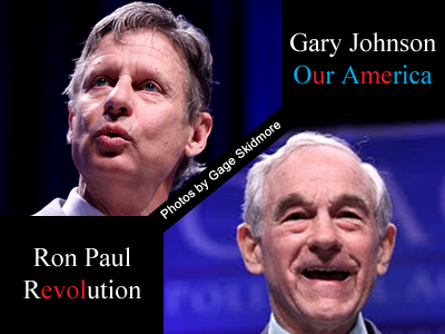 ron paul  gary johnson