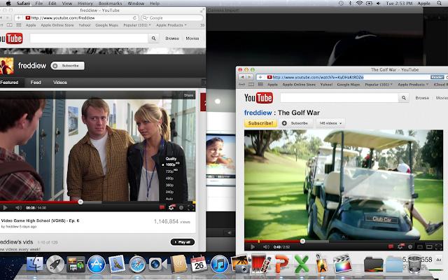 the fantastic new macbook pro screen streaming HD video