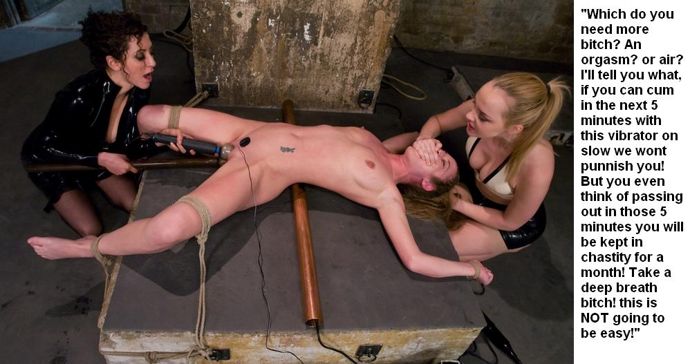 orgasms stories Bondage with