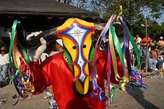 Torito del Carnaval de Barranquilla
