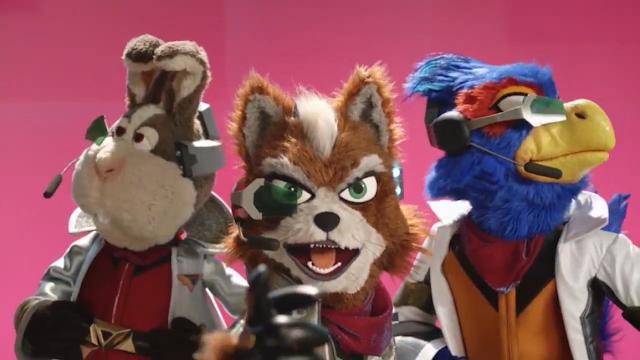 Fox Falco Peppy Muppets Star Fox Zero Nintendo