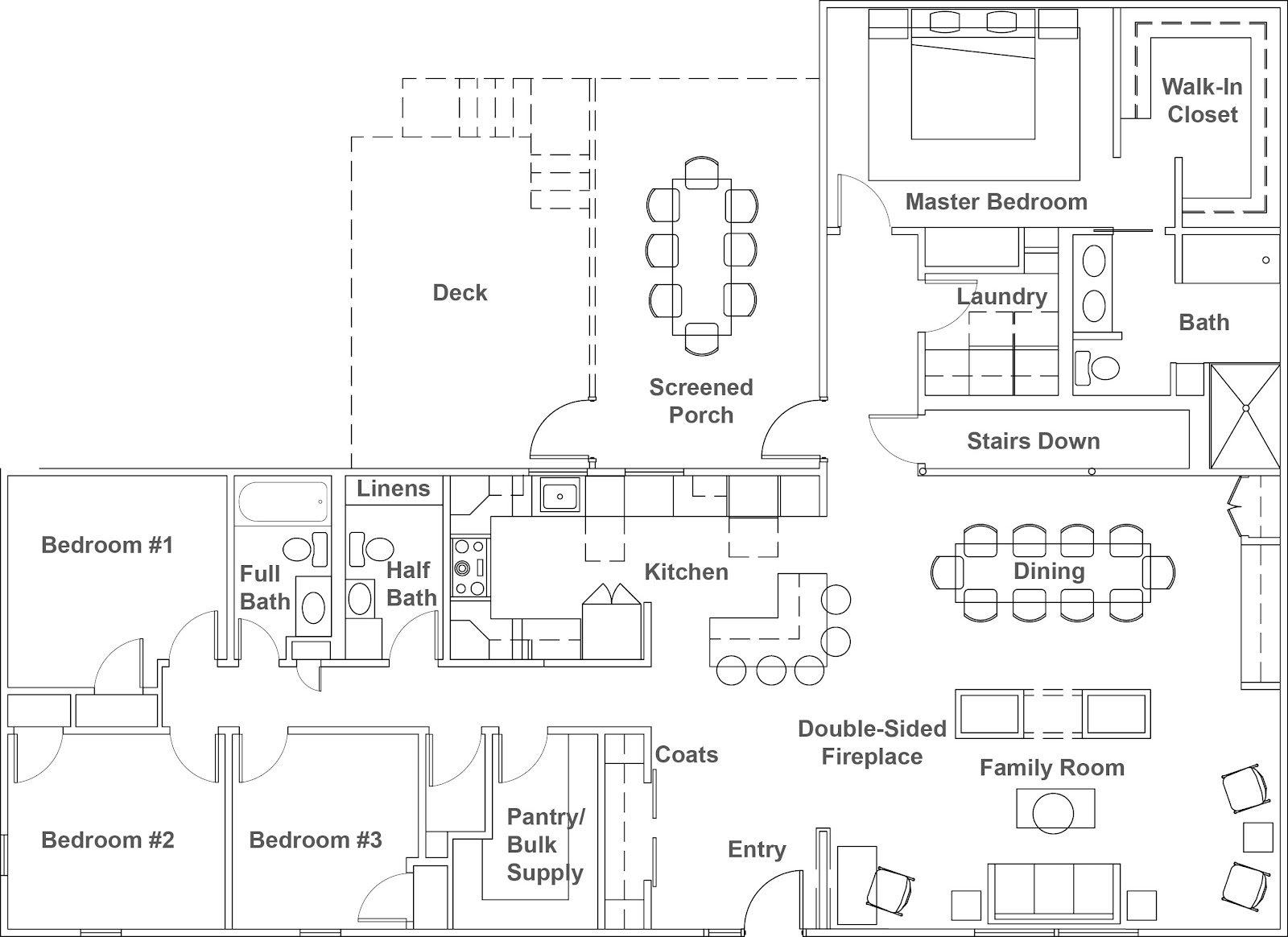 Layout Room Template Floor Plan
