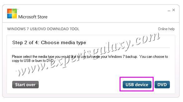 Для этого используем программу Windows 7 USB/DVD Tool. . Так как процессы