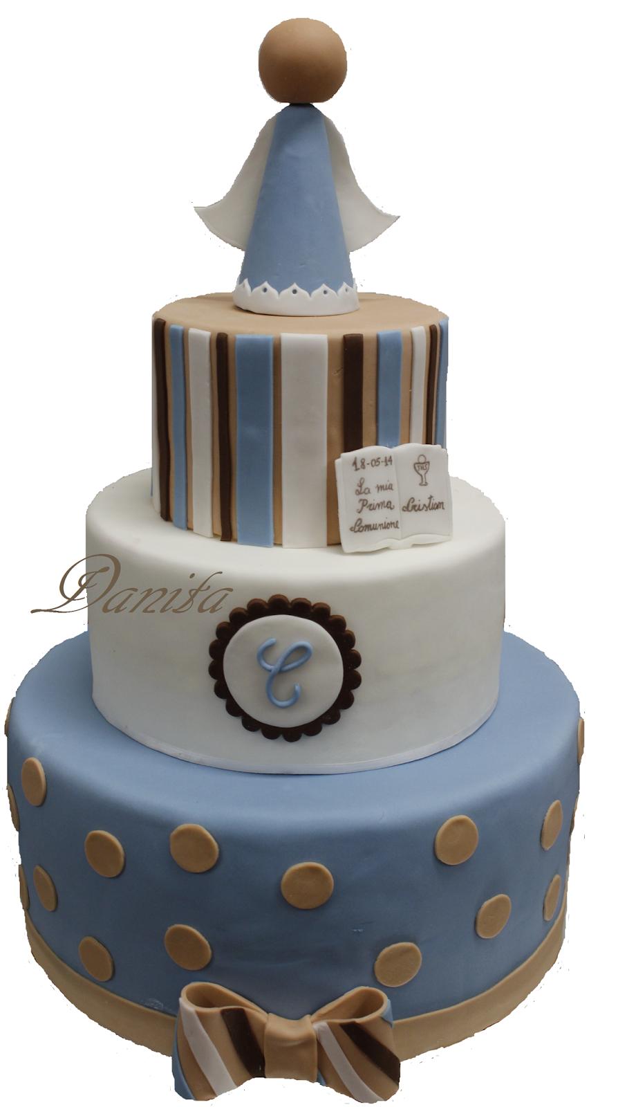torta comunione per cristian