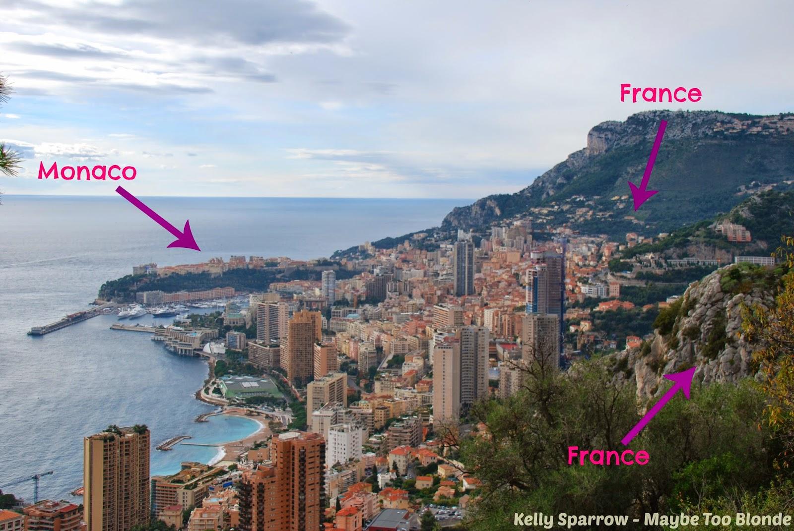 Monaco France border