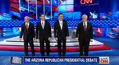 Arizona Republican GOP CNN debate 02/22/12