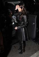 Kim Kardashian at Miami International Airport