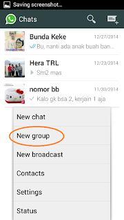 cara membuat group di whatsapp