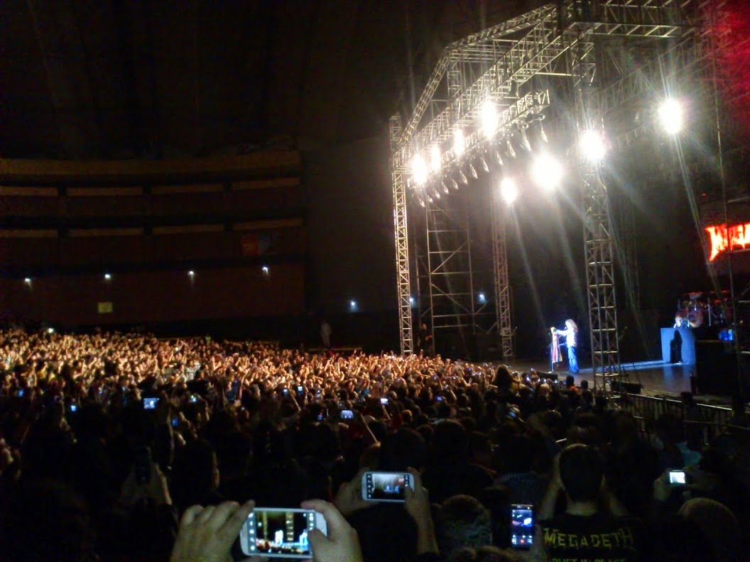 Megadeth 2014