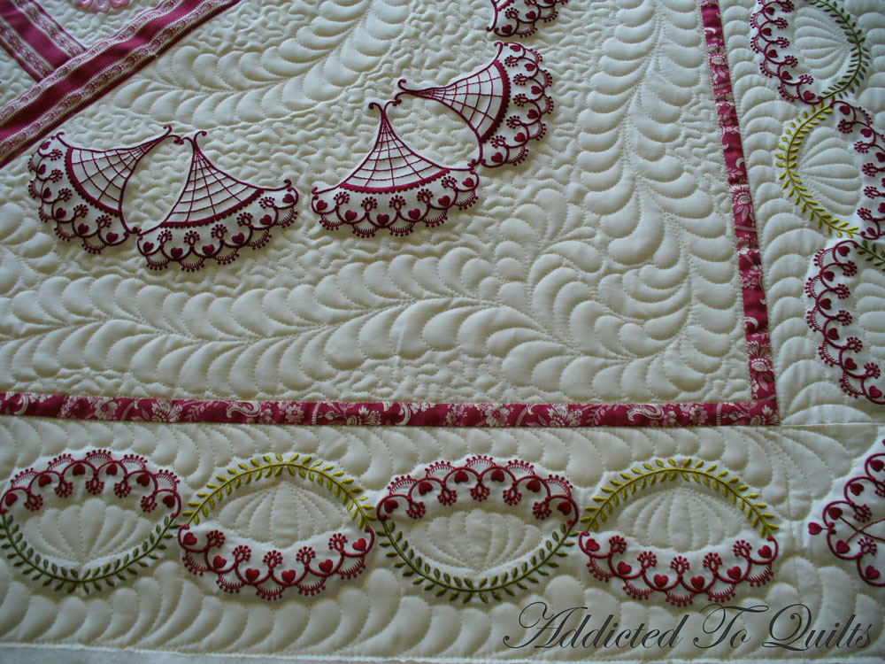 Addicted to quilts more embroidery from janet sansom