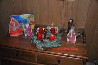 St. Nikolaus, Homeschool Blog, Bernice Zieba