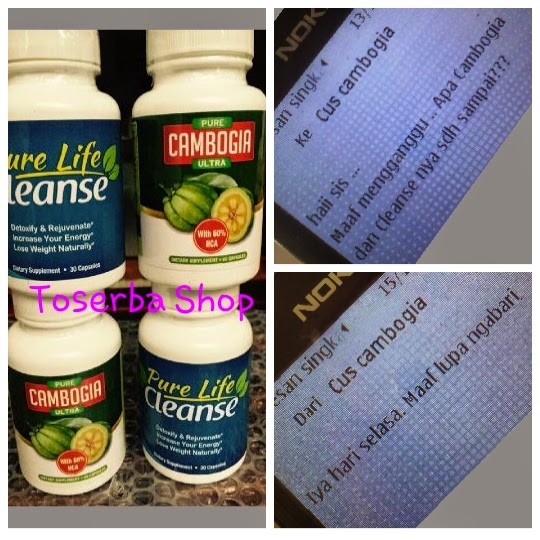 Pure Cambogia Ultra Original USA - Pelangsing Obat Diet Aman