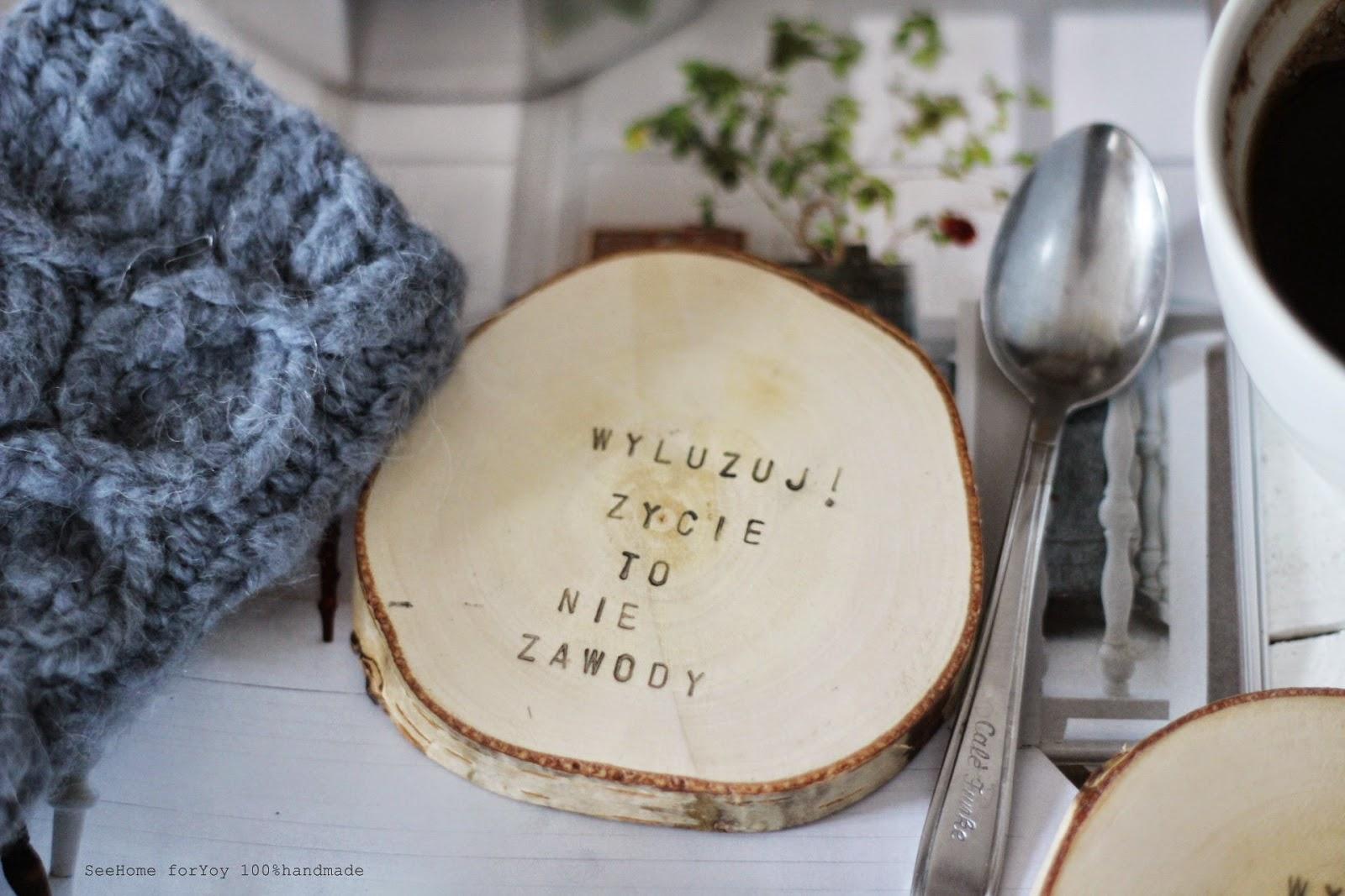 Drewniane podkładki,Podkładki na stół