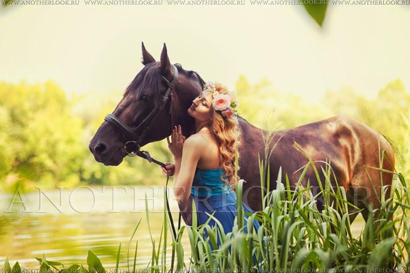 фотопрогулка с лошадью