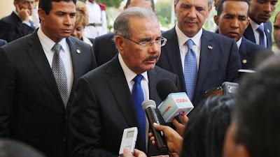 """Danilo Medina: """"Espero que la OEA diga la verdad; aquí no hay nada oculto"""""""
