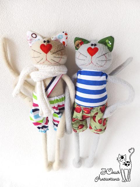 Коты хулиганы - Лёха и Серёга