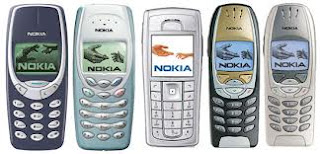 Old Style Mobile Phones