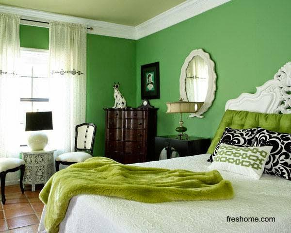 Dormitorio principal de una residencia
