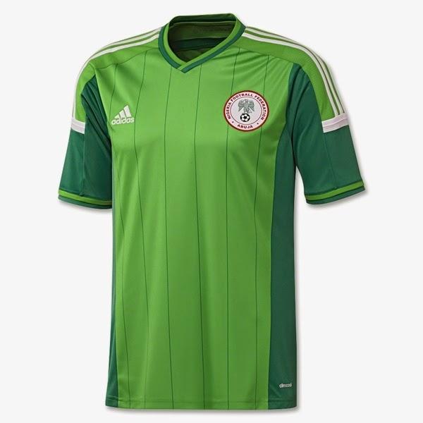 Jersey Negara Nigeria - Piala Dunia 2014