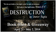DESTRUCTION Book Blast & Giveaway