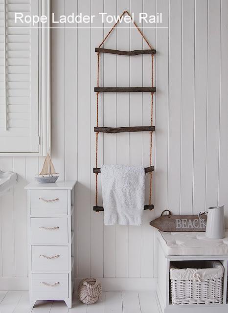 Flere gode og sjove måder du kan opbevarer/ophænge dine håndklæder ...