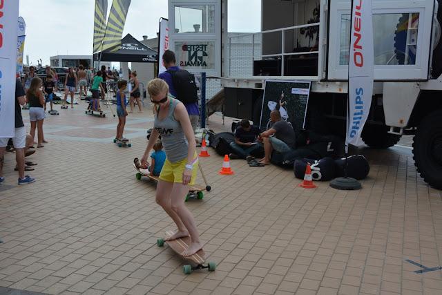 O'Neill Beach Club Blankenberge Skateboard