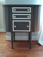 Martha Washington Sewing table redo