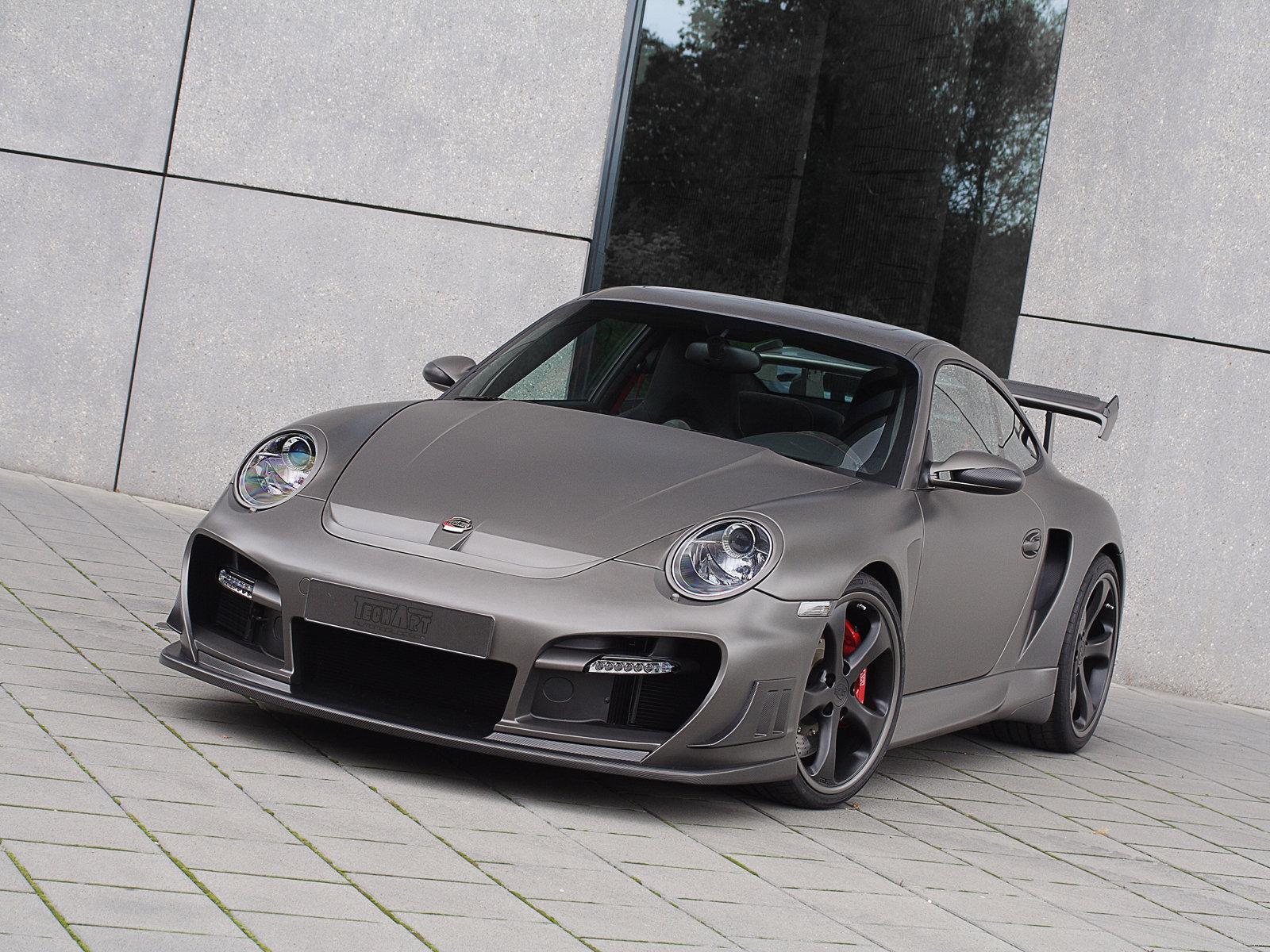 Hình ảnh xe ô tô TechArt Porsche 911 Turbo GTstreet R 2008 & nội ngoại thất