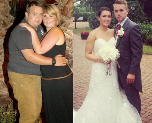 Pasangan Kuruskan Badan Untuk Majlis Perkahwinan
