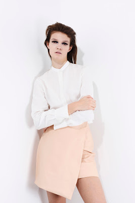 Skirt, light pink