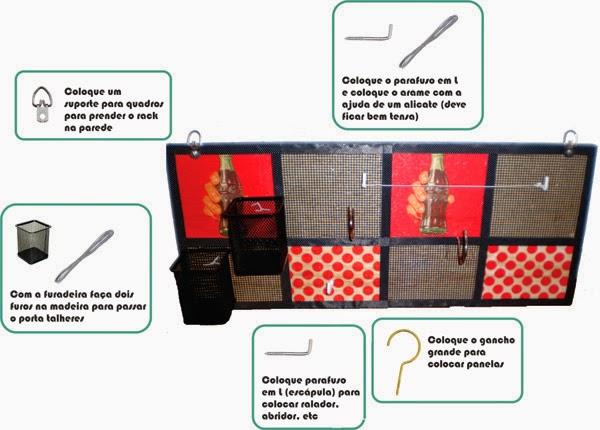 rack panelas, decoração, cozinha, diy, arrumação