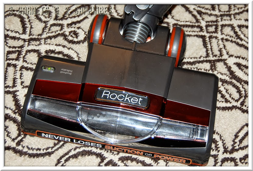 the shark rocket upright vacuum offers power and versatility