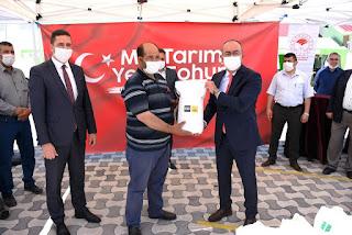 Konya Büyükşehir'den Üreticiye Yerli Susam Tohumu Desteği