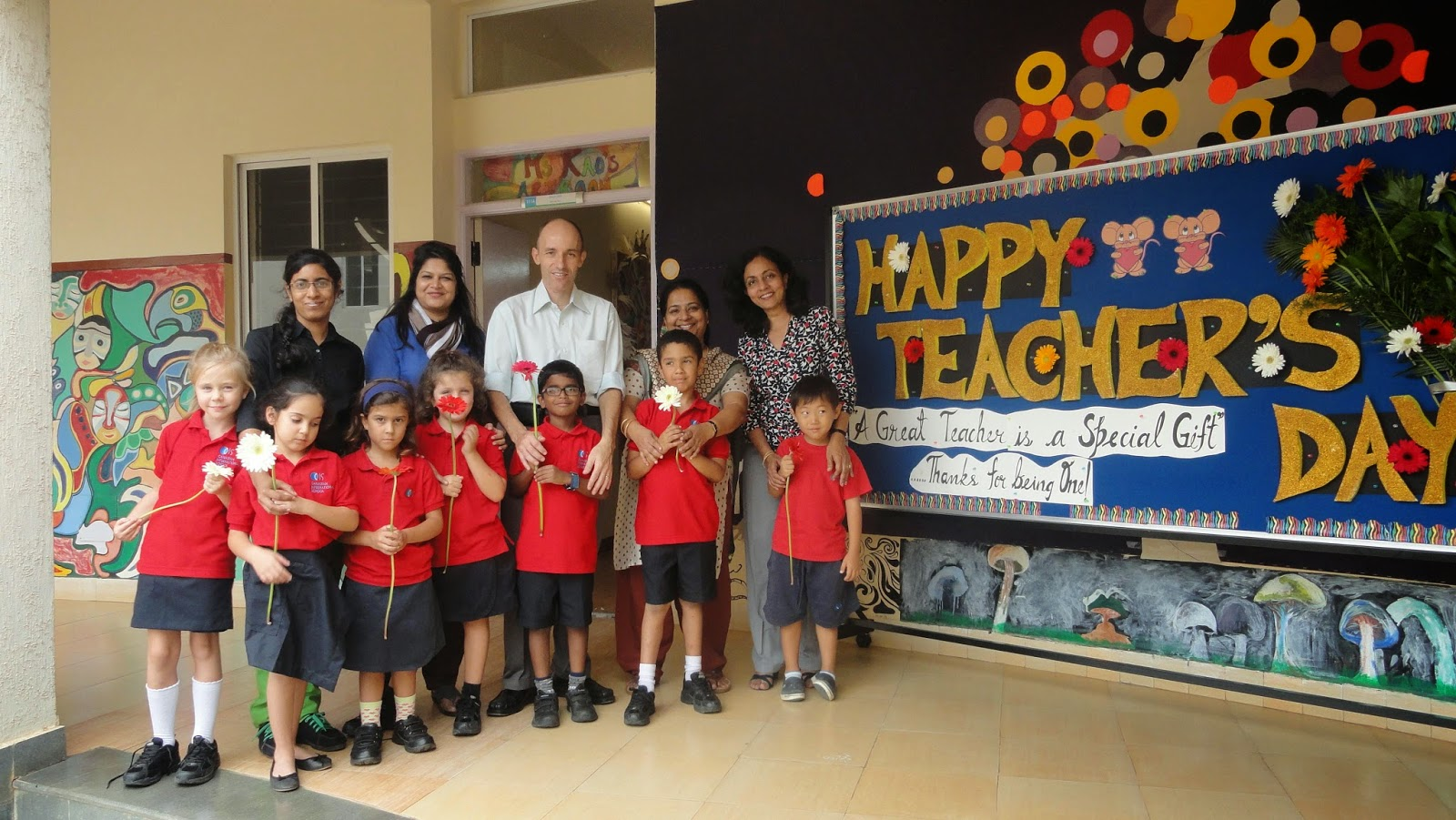 Teachers Day Celebration At Canadian International School