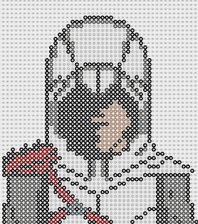 pixel art en perle hama assassin 39 s creed hama beads. Black Bedroom Furniture Sets. Home Design Ideas
