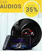 Paytm : Car Audio Extra 35% Cashback