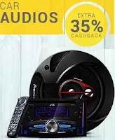 Paytm : Car Audio Extra 35% Cashback