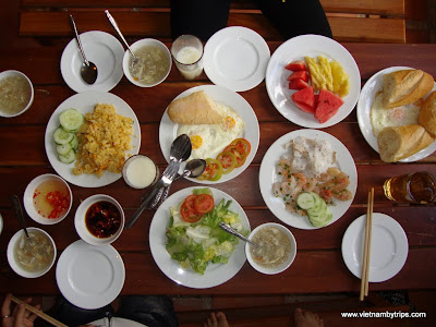 Dalat city - breakfast meals