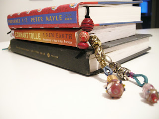 Book Jewellery, DIY Book Jewellery, DIY Bookmark, Beaded Bookmark, Bookmark Craft, easy to make bookmark, how to make a book mark