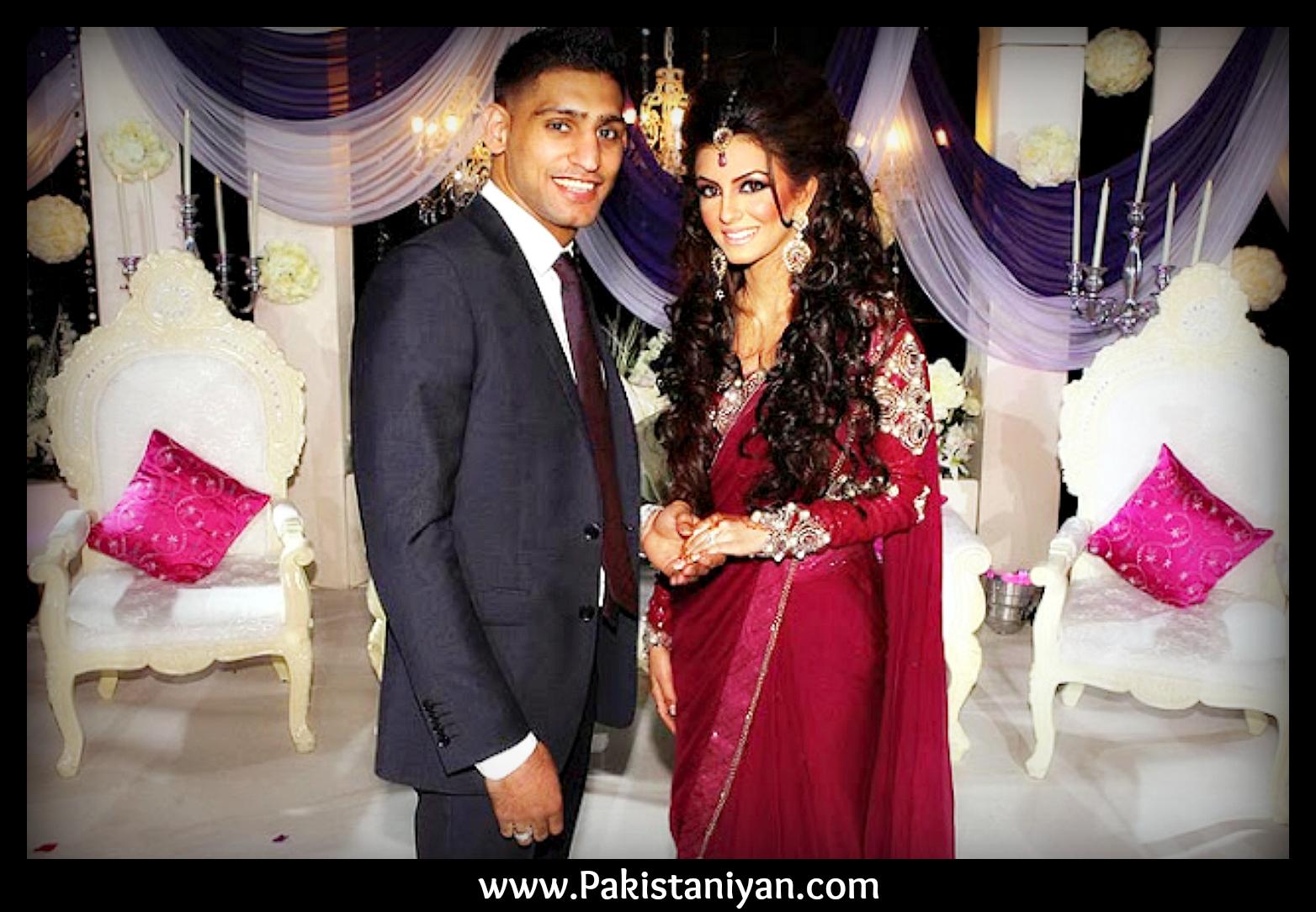 Amir Khan Wedding