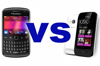 BlackBerry VS Nokia