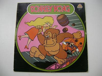 Donkey Kong vinyl LP 1983