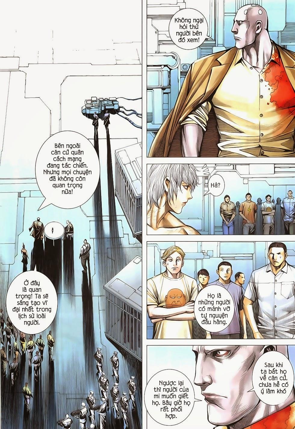 Đại Quân Phiệt chap 53 - Trang 13
