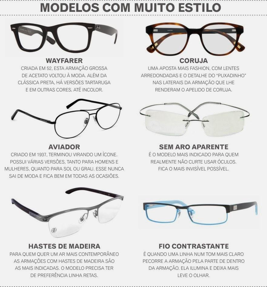 25a031392c87f Mas óculos que harmonizam com o rosto e o estilo de quem os usam podem até  mesmo dar um up no visual.
