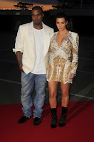 Kanye West Checks Out Kim Kardashian Cleavage Cruel Summer