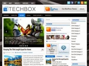 TechBox - Free Wordpress Theme
