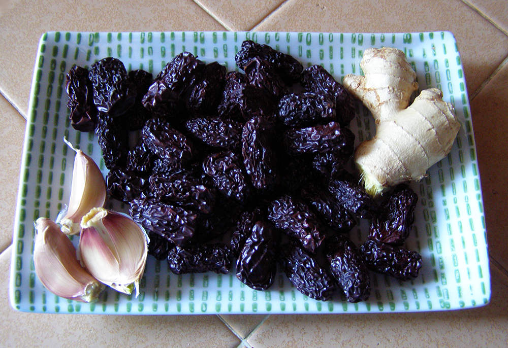 Black Dates Before Cooking