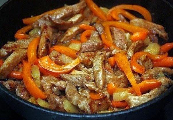 Рецепты из свинины шея