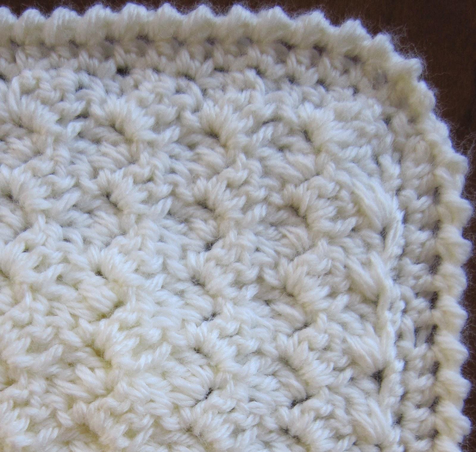 Sea Trail Grandmas Preemie Crochet Blanket And Hat Horizontal