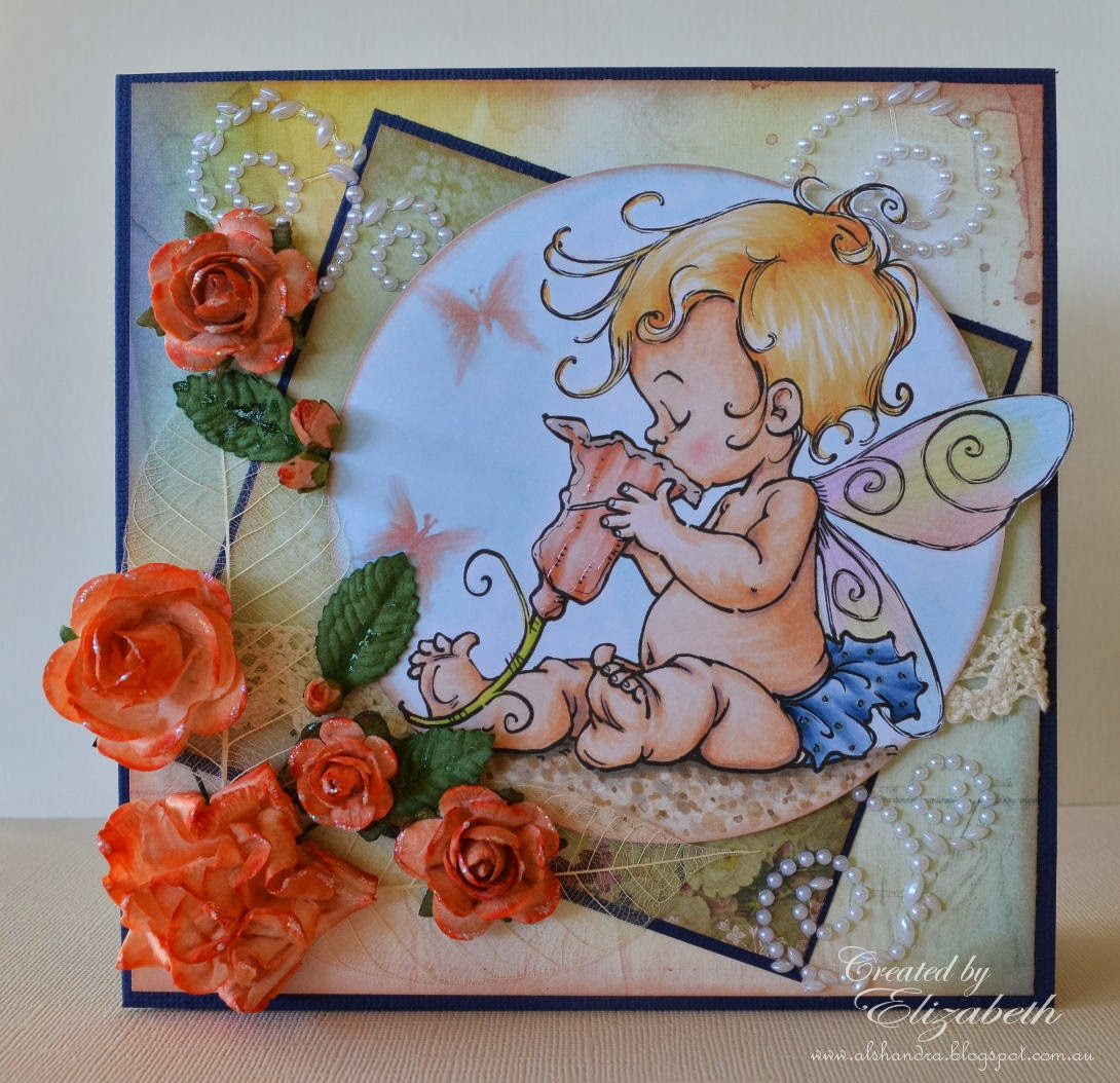 Mo Manning Baby Fairy Sip, Elizabeth Whisson, copic